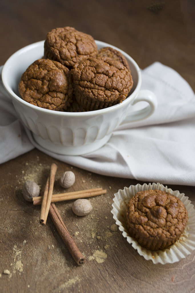 Carrot and Applesauce Muffin