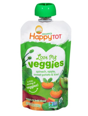 Food pouch happy tot