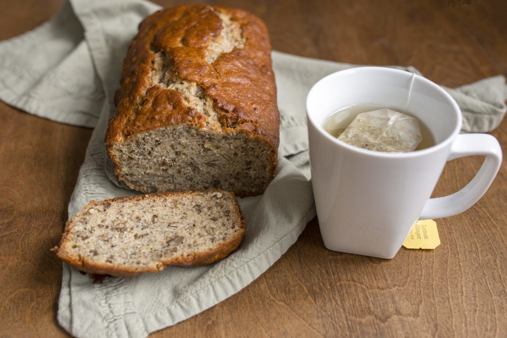 Easy, Healthy and Moist Dairy-free Banana Bread Recipe