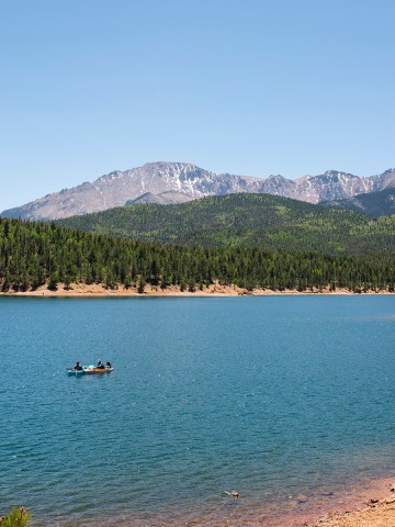 Pikes Peak Reservoir Colorado