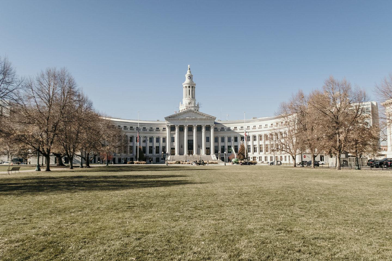 Justice Buildingl in Denver Colorado