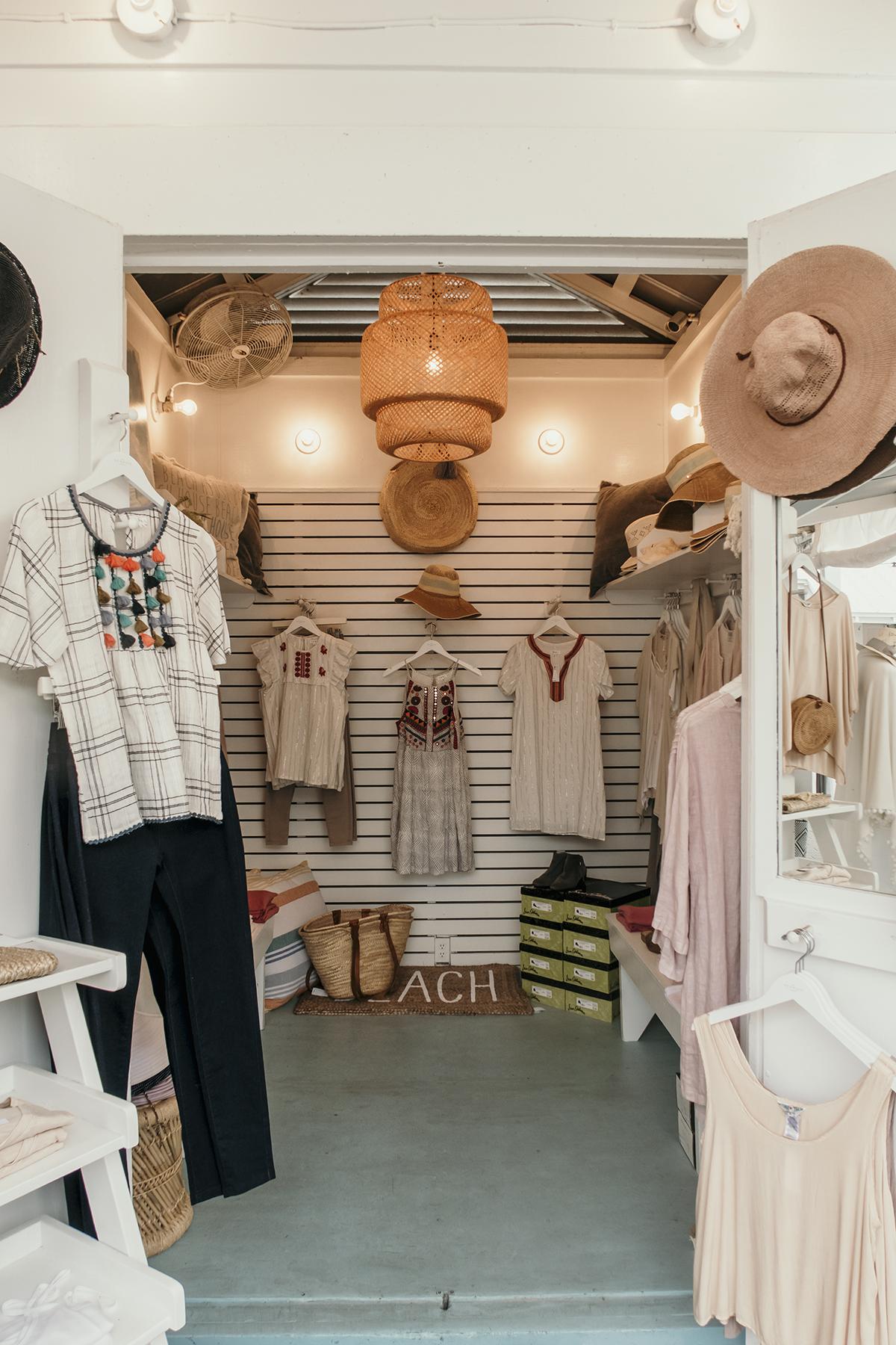 Cute clothes shop in Seaside Florida