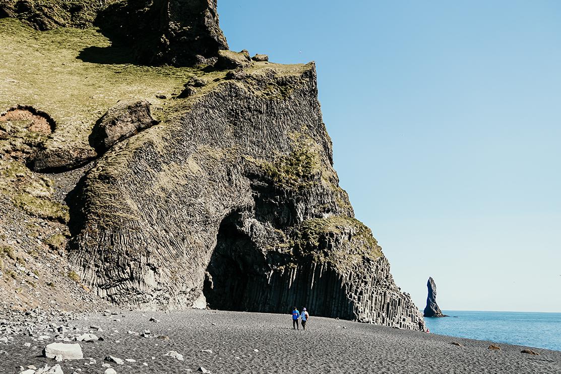 Reynisfjara Beach Cave in South Iceland