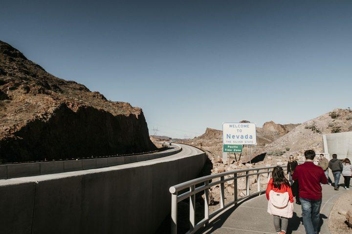Walkway at Hoover Dam Nevada