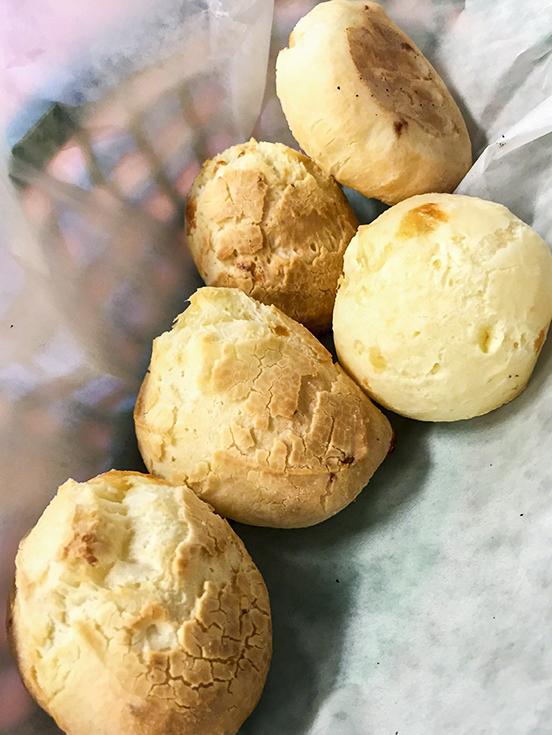 Brazilian Cheese Bread , Pao de Queijo