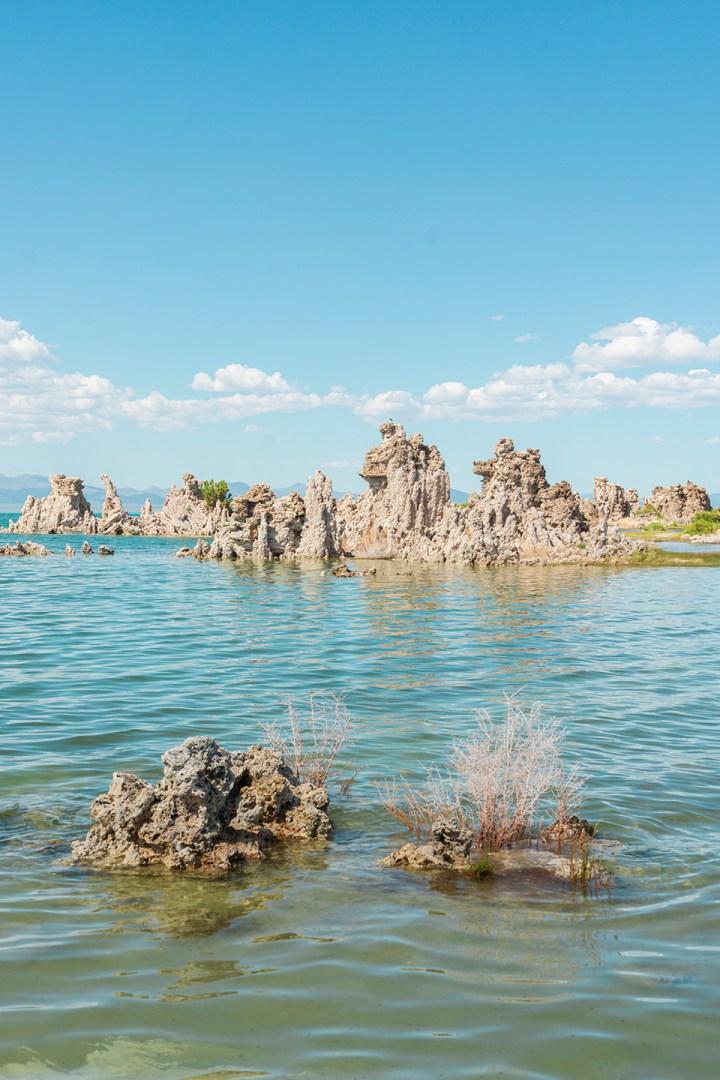 Mono Lake Tufas near Mammoth Lakes California