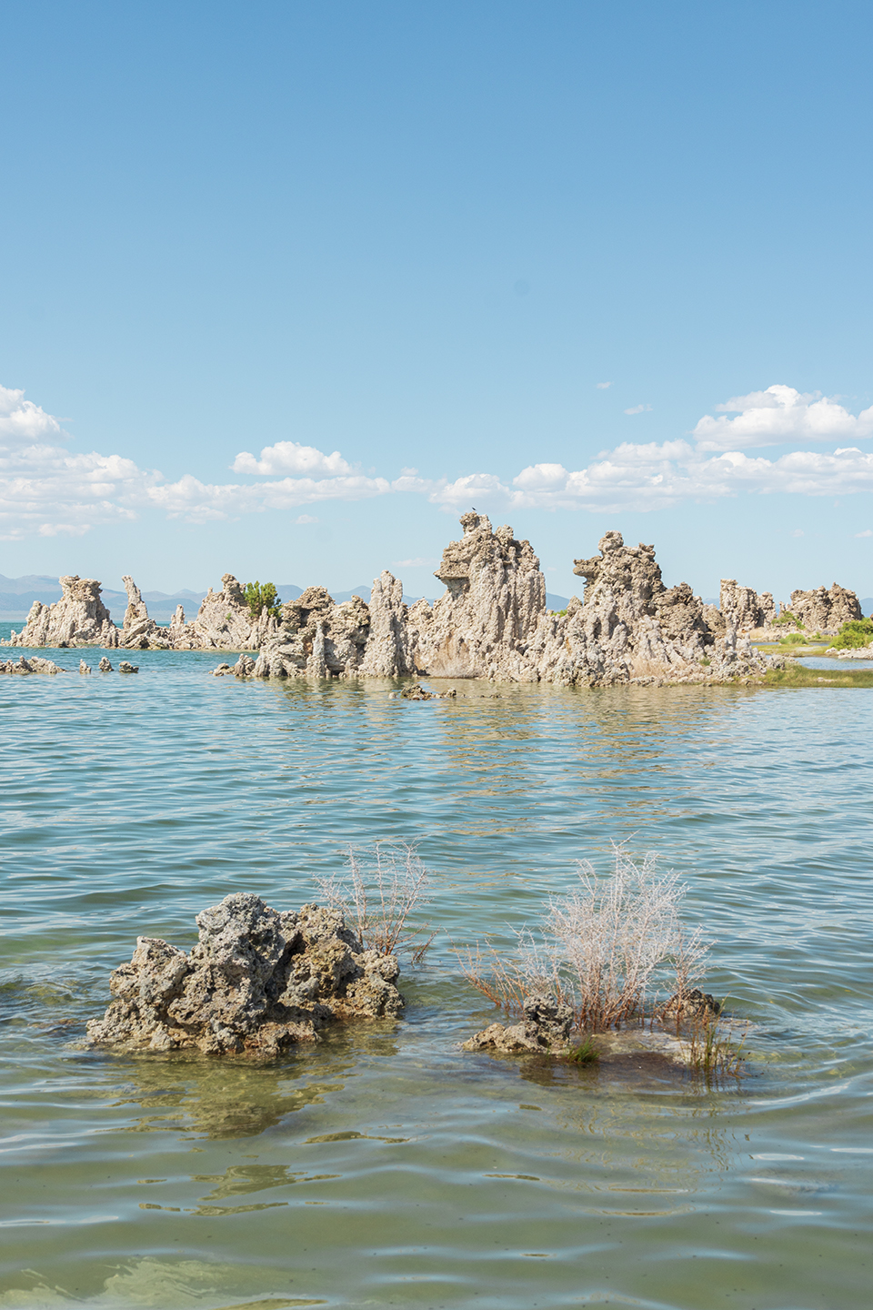 Mono Lake Tufas near Mammoth Lakes California