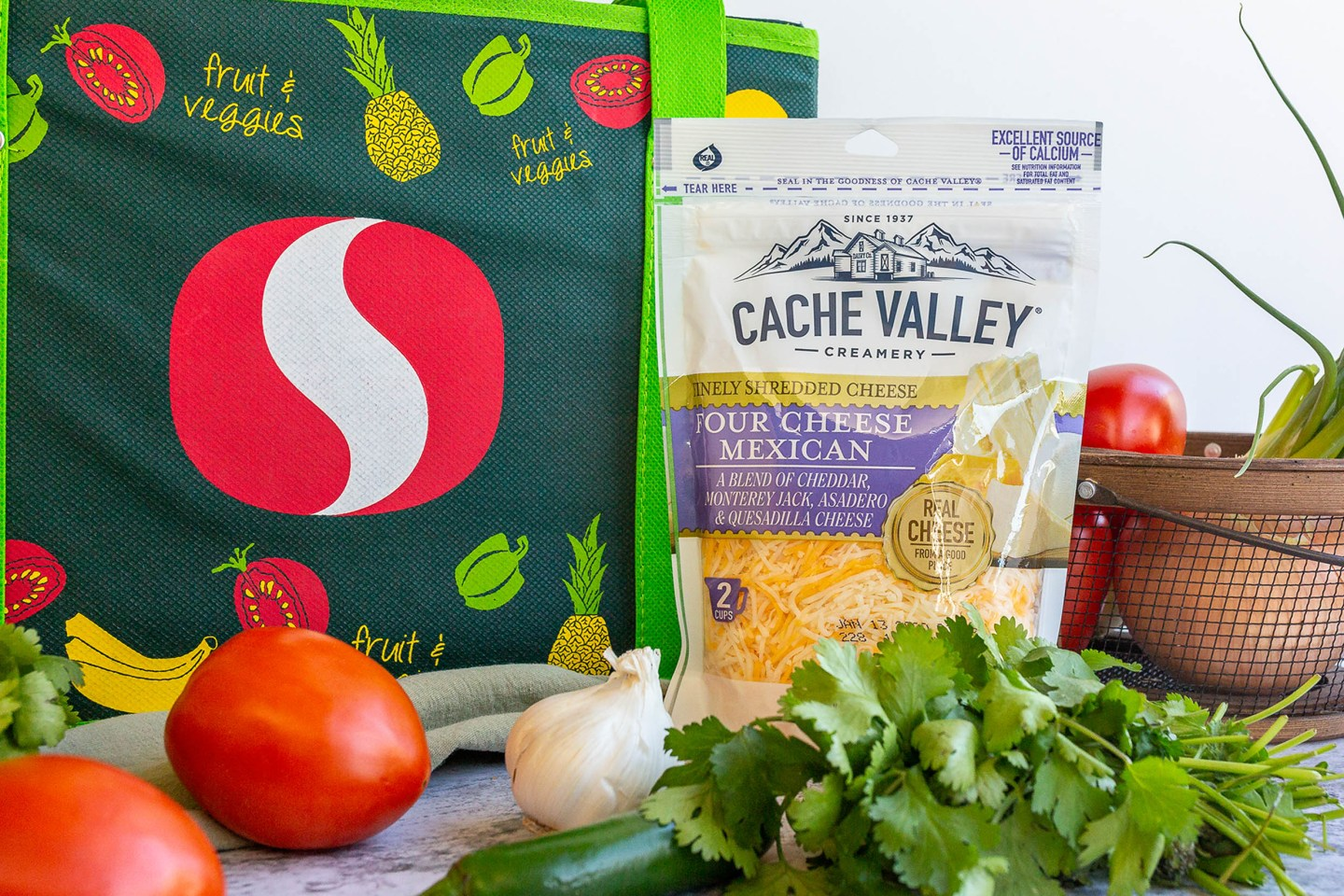 Cache valley Four mexican cheesy at Safeway