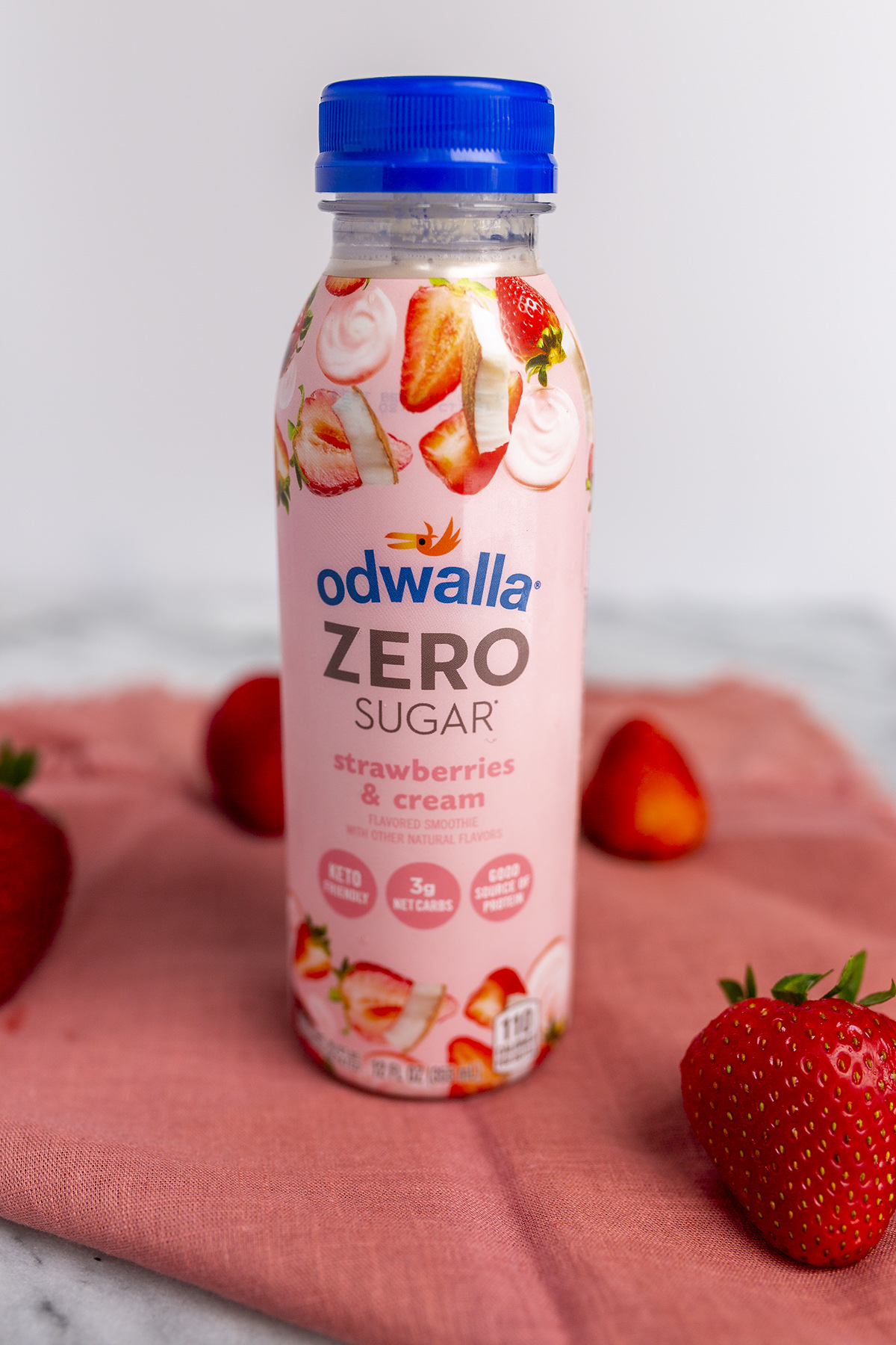 Strawberries and cream zero sugar smoothies