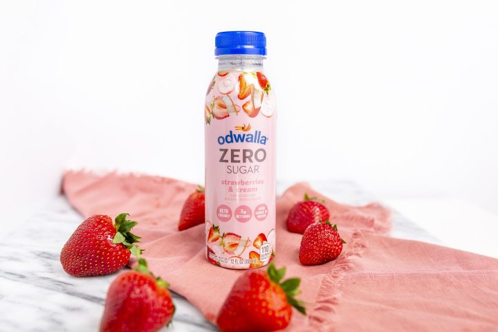 Odwalla Zero Sugar Strawberry Smoothie