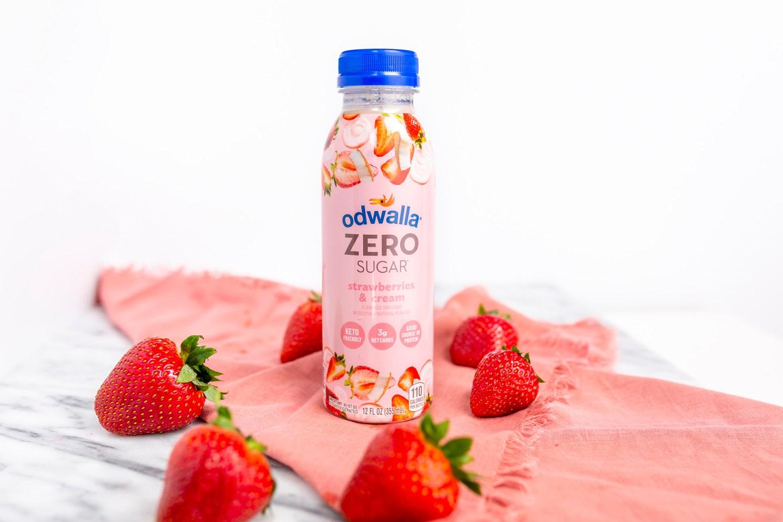 Odwalla Zero Sugar Strawberry Smoothie