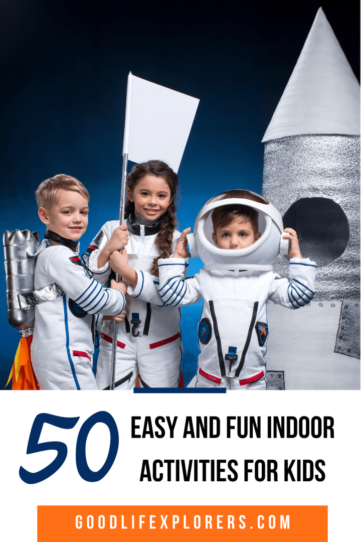 50 Easy and Fun Indoor Activities for Kids to do at Home