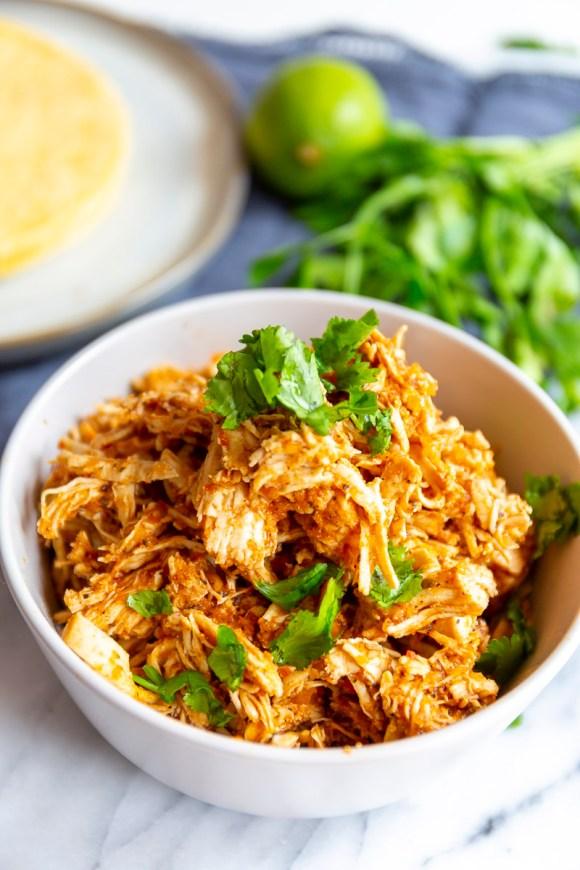 Chicken Tinga Recipe For Tacos or Tostadas
