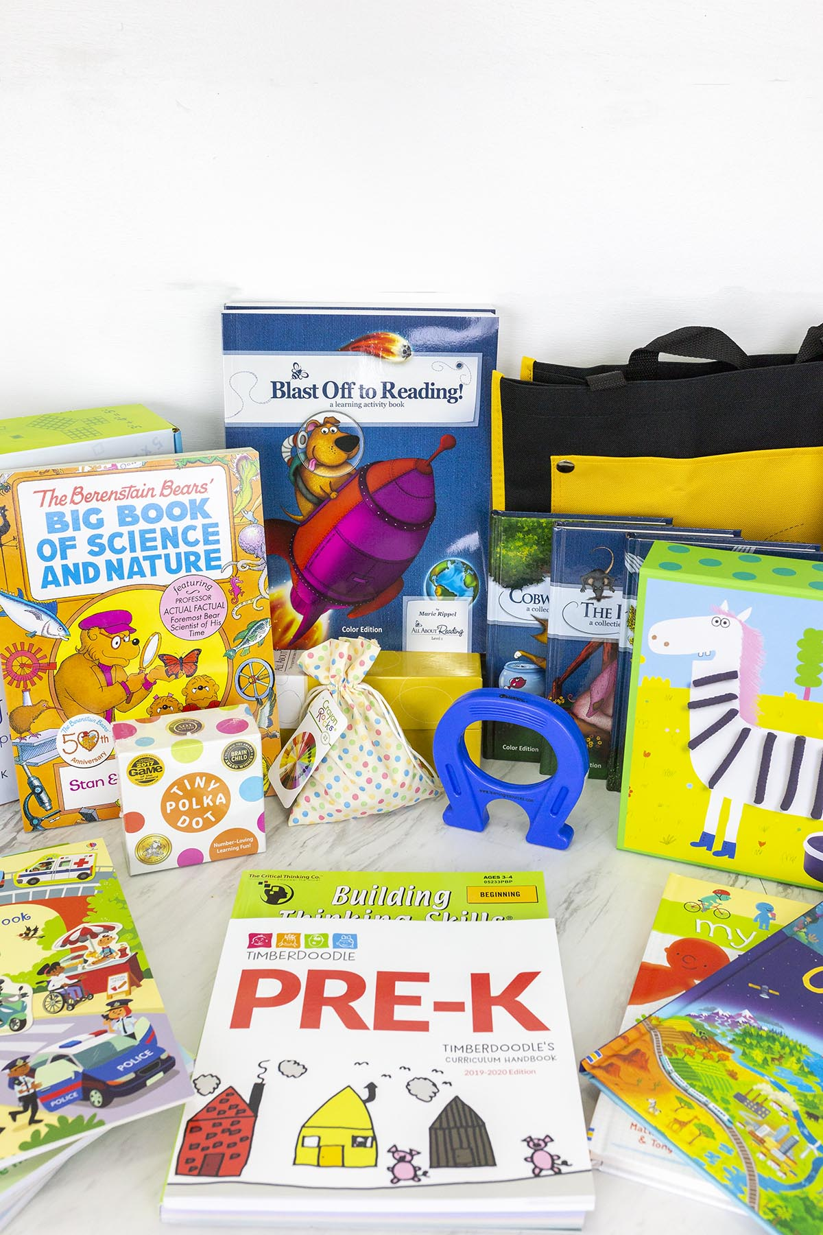 Timberdoodle Preschool Curriculum Kit Review