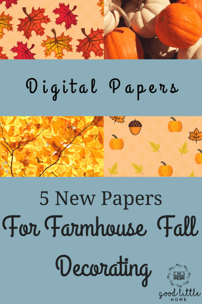 Picture of digital papers for Fall