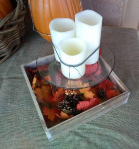 Picture of Cake server fall center