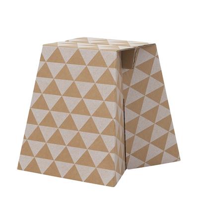 Carton footstool