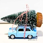 DIY: Little car with Christmas tree on the roof (Actionhack #01)