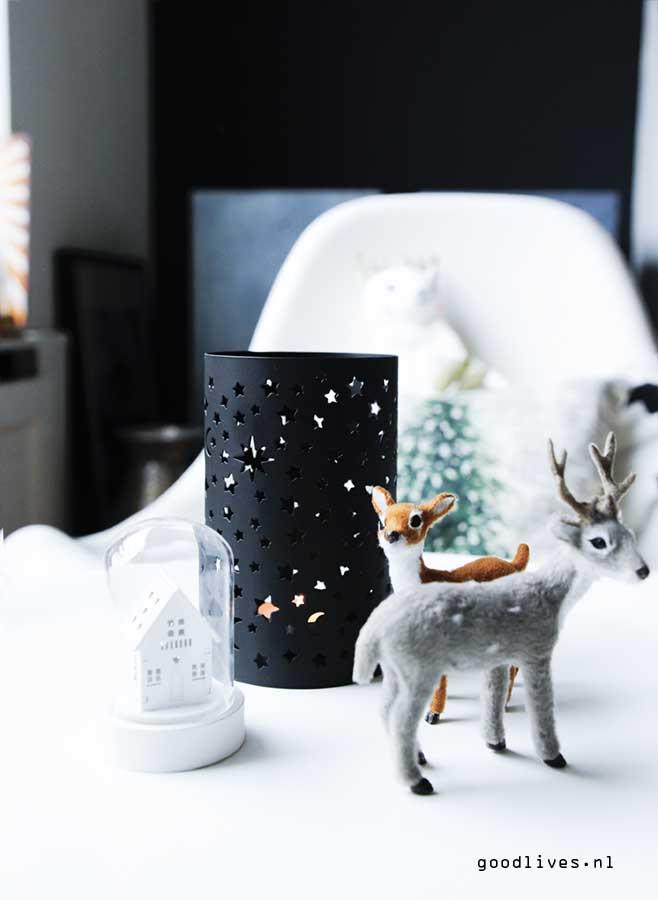 Deers and lights Christmas 2016