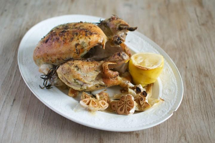 Helstekt kylling med urter-2