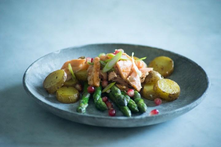 asparges -lun salat med laks-9