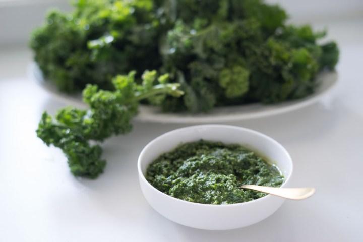 grønnkålspesto