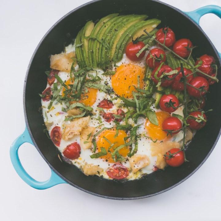 eggepanne med klippfisk Dybvik