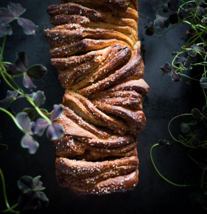 stablebrød med kanel og sukker