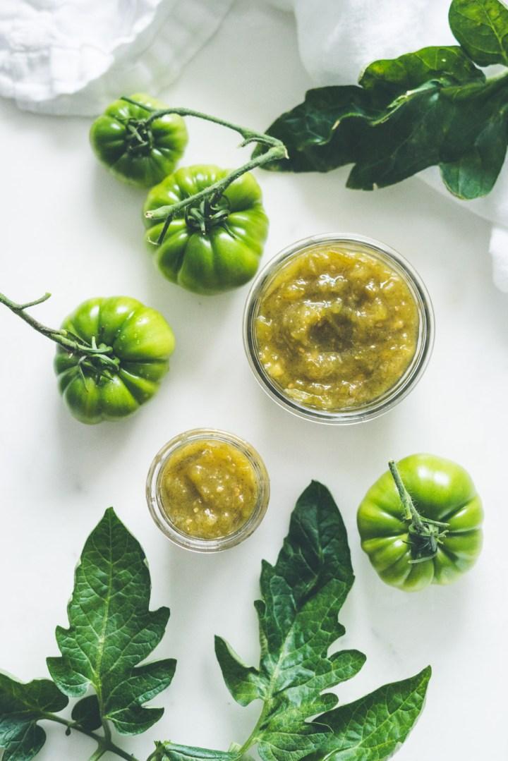 Syltetøy av grønne tomater