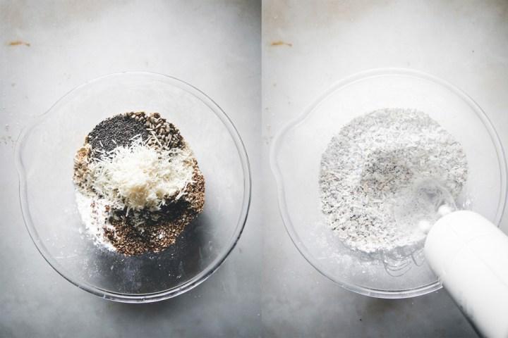 Frøkjeks med parmesan