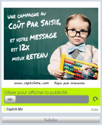 Captch Me, projet crowdfunding