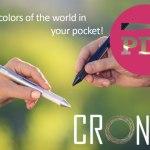 PDJ 08 Août : Cronzy Pen, plus de 8 millions de couleurs dans la poche
