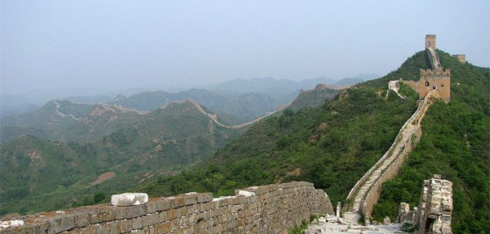 Grande muraille de Chine : la restauration d'un heritage culturel en crowdfunding
