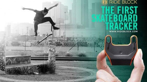 PDJ 17 février: RideBlock – Le trackeur de mouvements pour skateboard