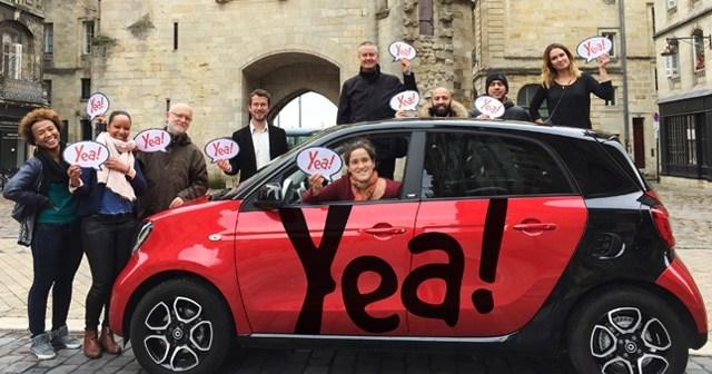 PDJ 22 mars : Yea ! – Révolutionne l'autopartage