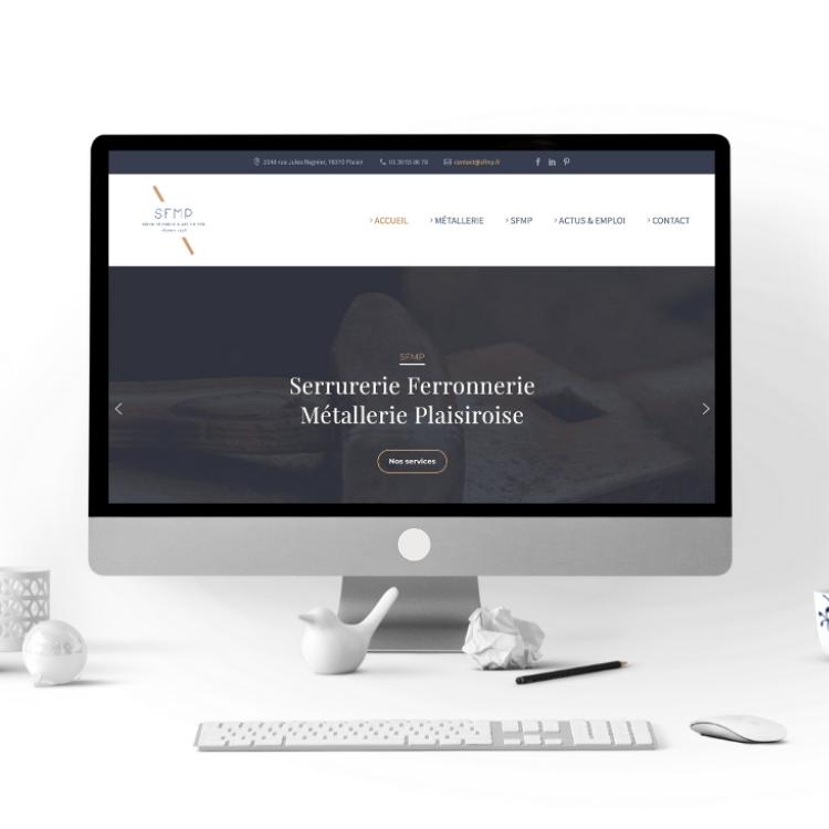 projets réalisés freelance exemple site web