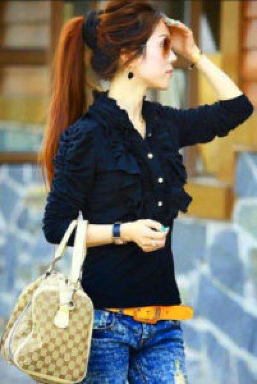 Stylish Girls Whatsapp DP Profile Images wallpaper photo hd download