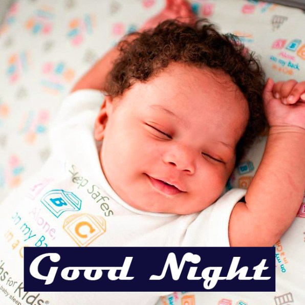 Cute Baby good night images Pics