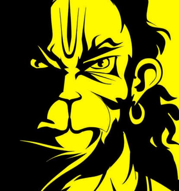God Whatsapp DP Profile Images Wallpaper photo With Hanuman JI