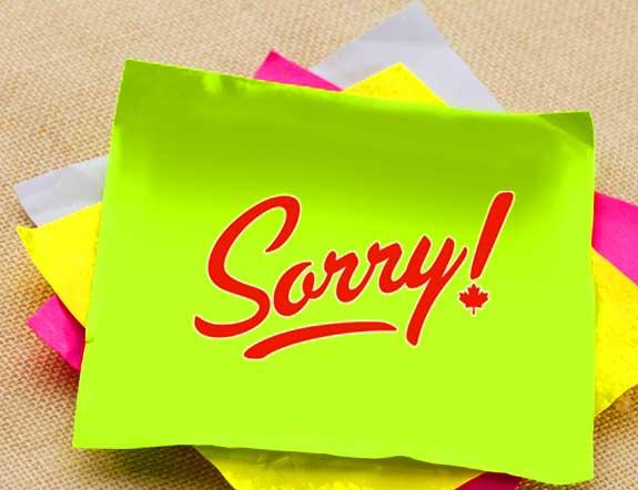 Sorry Whatsapp Dp Photo Free