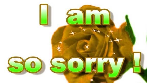 Sorry Whatsapp Dp Pics Download