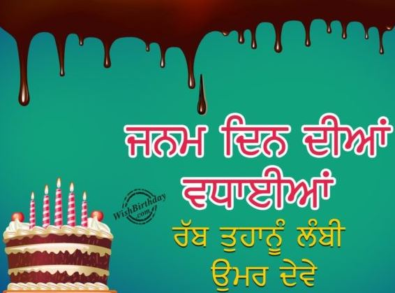 Happy Birthday Wishes For Brother In Punjabi The Blouse