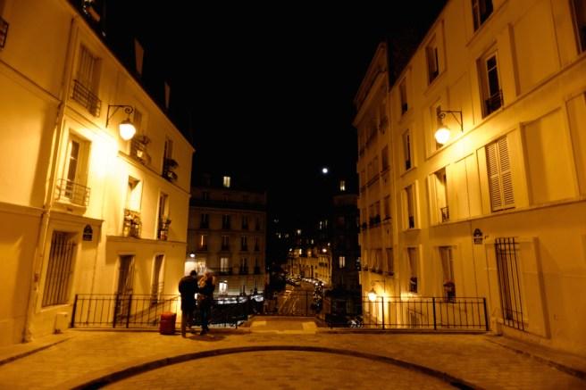 End of the rue Rollin-Paris latin quarter