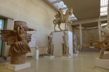 Musee Bourdelle Paris_inside the plasters hall