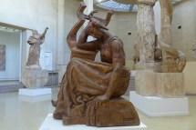 Musee Bourdelle Paris_plaster Sapho