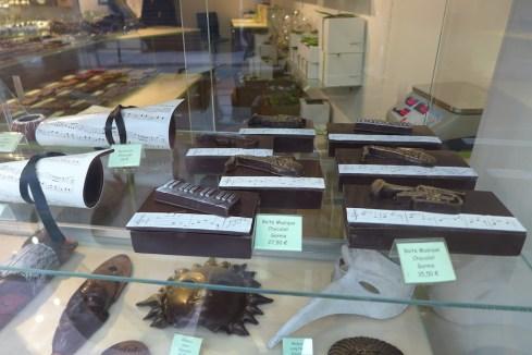Josephine Vannier Paris-music chocolate creations
