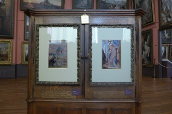 Gustave moreau Paris - in the studio