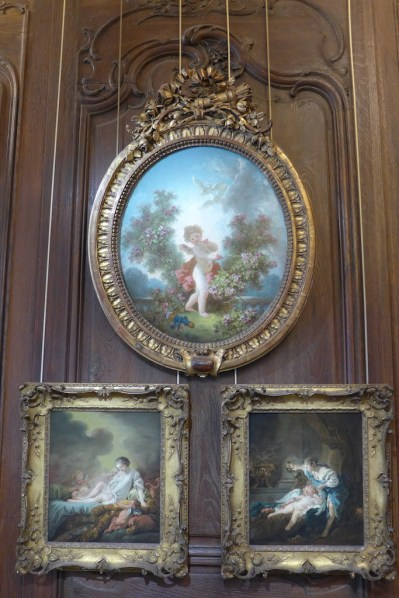 Paintings by Boucher in the main room