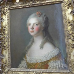 Portrait of a woman at Cognacq-Jay museum Paris