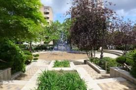Playground for kids at jardin Charles Peguy - Paris